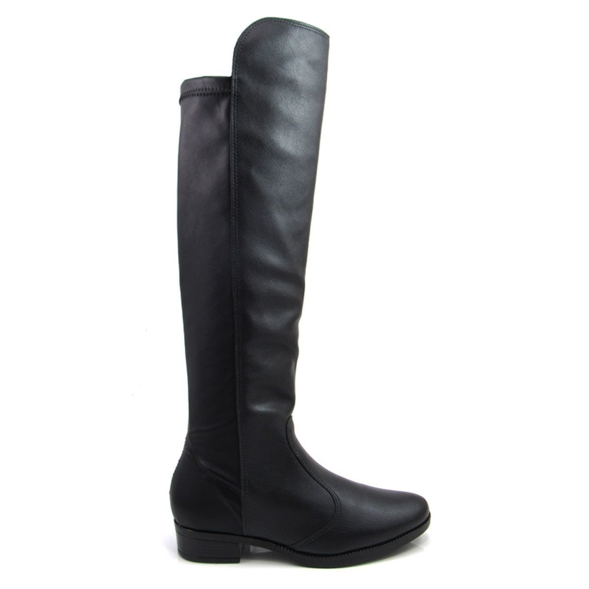 650def243 Bota Feminina Cano Longo Salto Montaria Vizzano 3050105 Over The Knee |  Zattini
