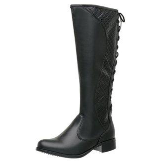 Bota Feminina Montaria Regulagem Top Franca Shoes
