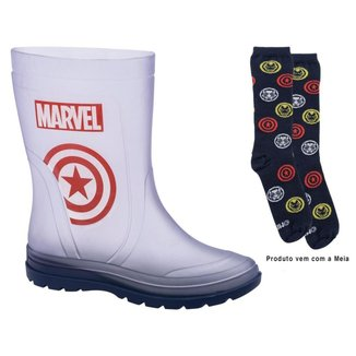 Bota Galocha Infantil Marvel Action Day Masculina