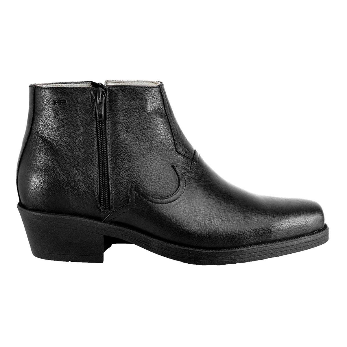 2976570455 Bota Hb Agabe Boots Conforto Masculina - Preto
