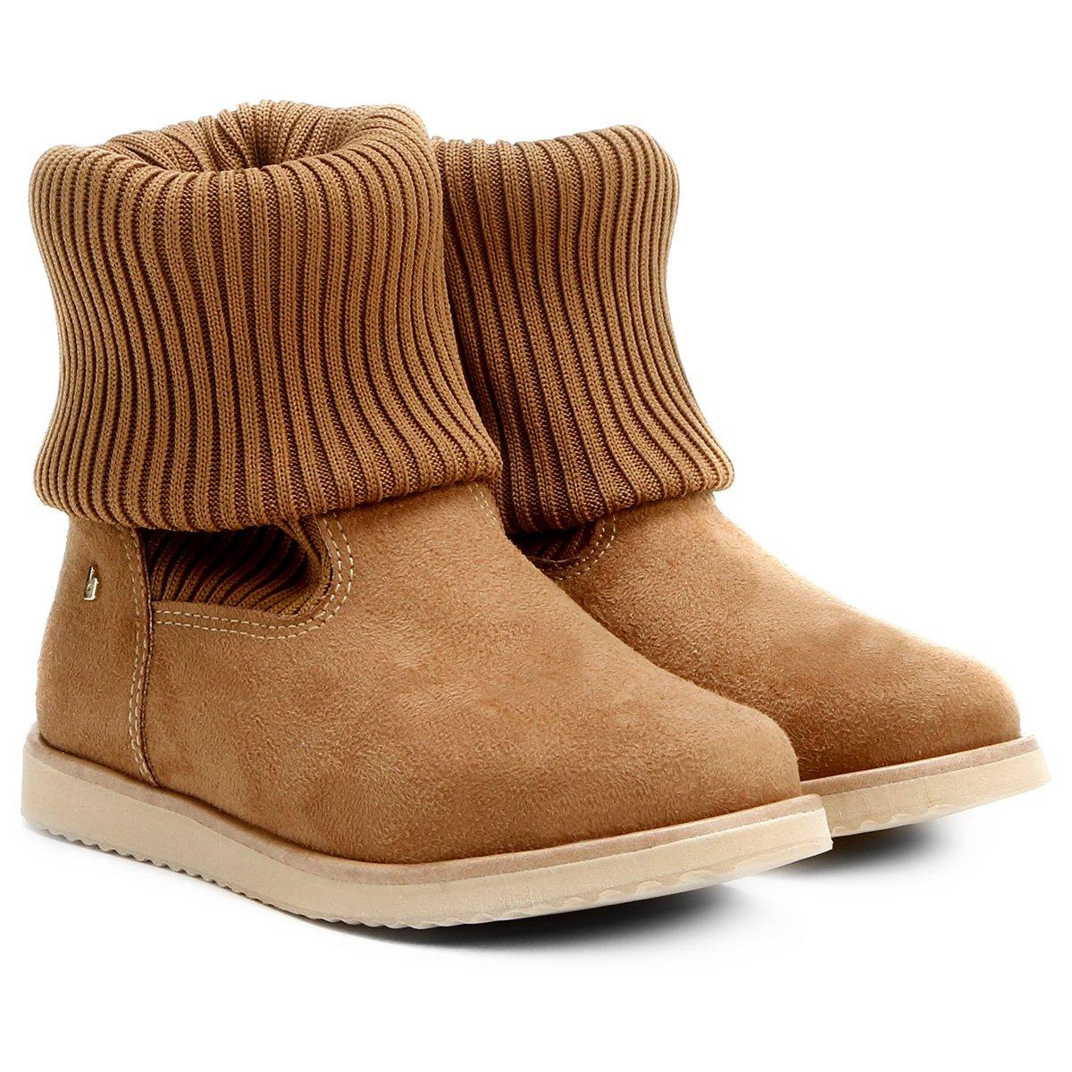 4112db53a8 Bota Infantil Cano Curto Bibi Frozen Boots Feminina - Compre Agora ...