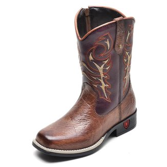 Bota Infantil Country Texana Top Franca Shoes Masculina