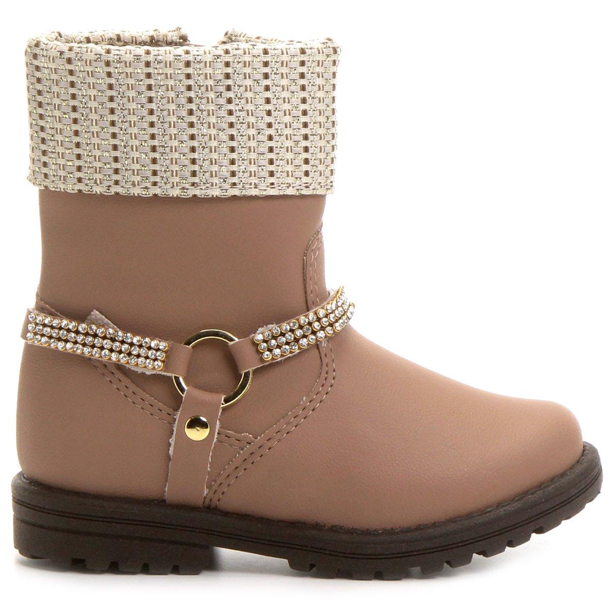 4e16489f98 Bota Kidy Coturno Fashion Baby - Compre Agora