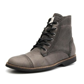 Bota London Shoes Grand Em Couro Masculina