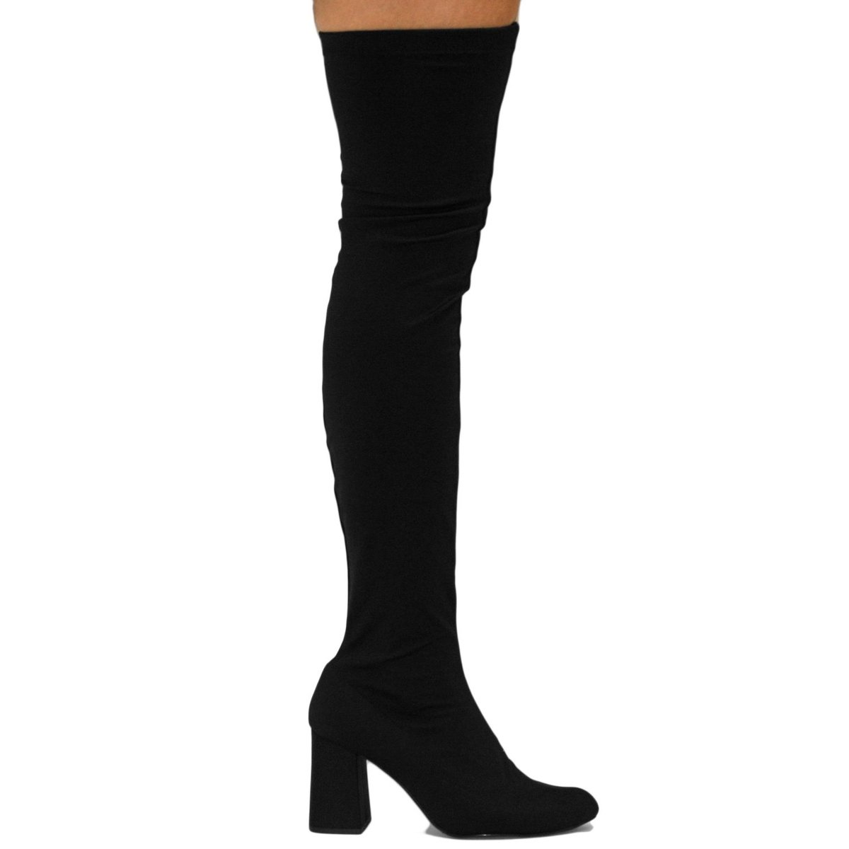 Bota Meia Liszy Over The Knee Feminina - Preto - Compre Agora  9aefabbff5385
