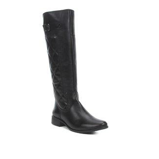 Bota Montaria Shoestock Couro Matelassê Feminina