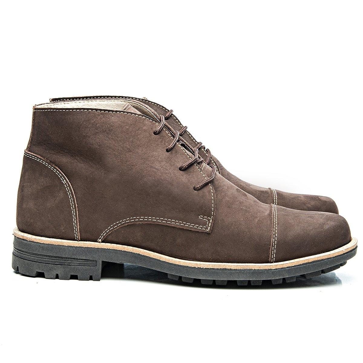 0bdb05c8b7957 Bota Montreal Couro Cadarço Arauak Boots - Compre Agora