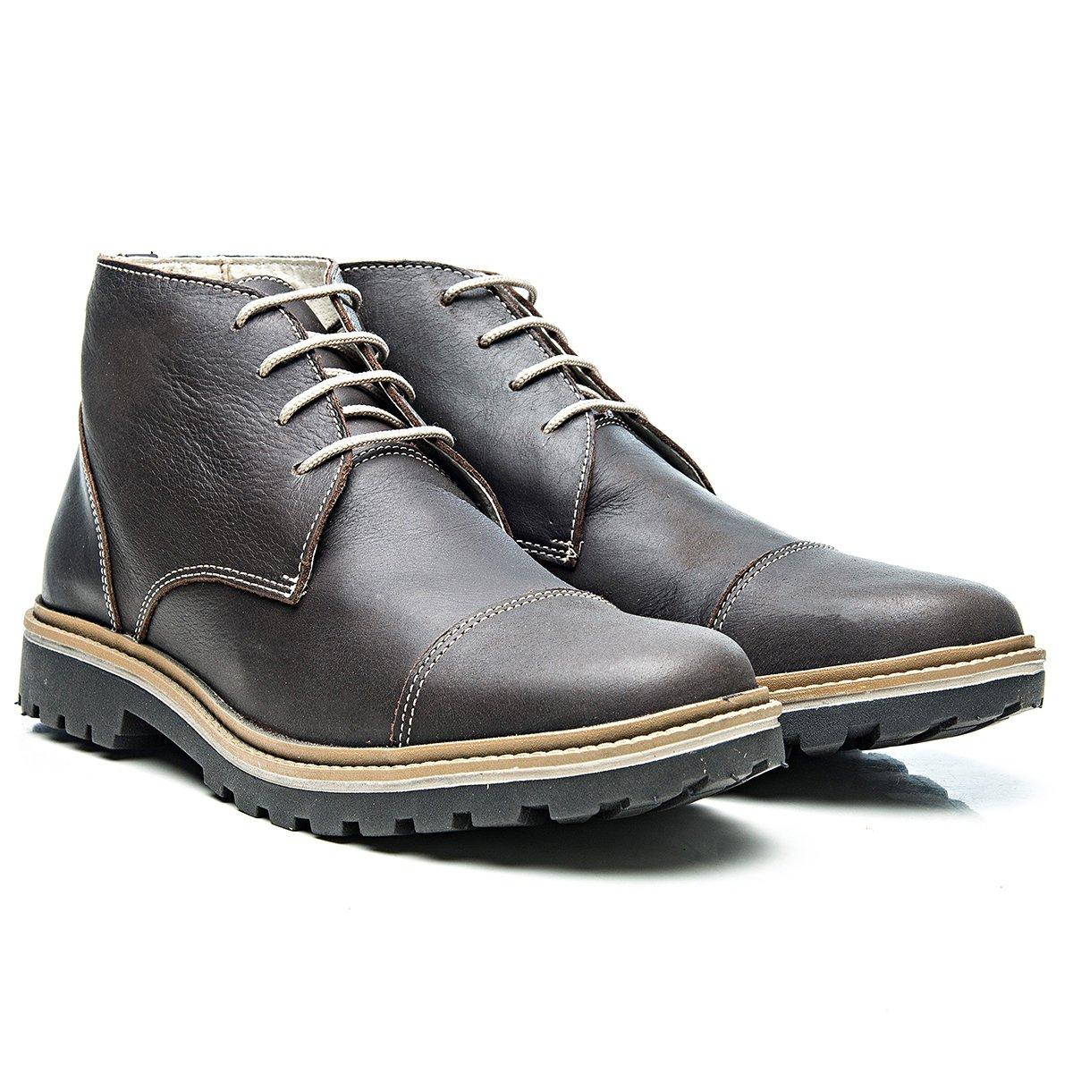 1964370b3d8e9 Bota Montreal Couro Floater Cadarço Arauak Boots - Compre Agora ...
