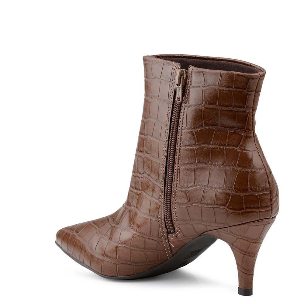 Bota Bico feminina Bota Cat croco Mr feminina Bota Mr Cafe Bico croco fino fino Cat Cafe AA4R6S8