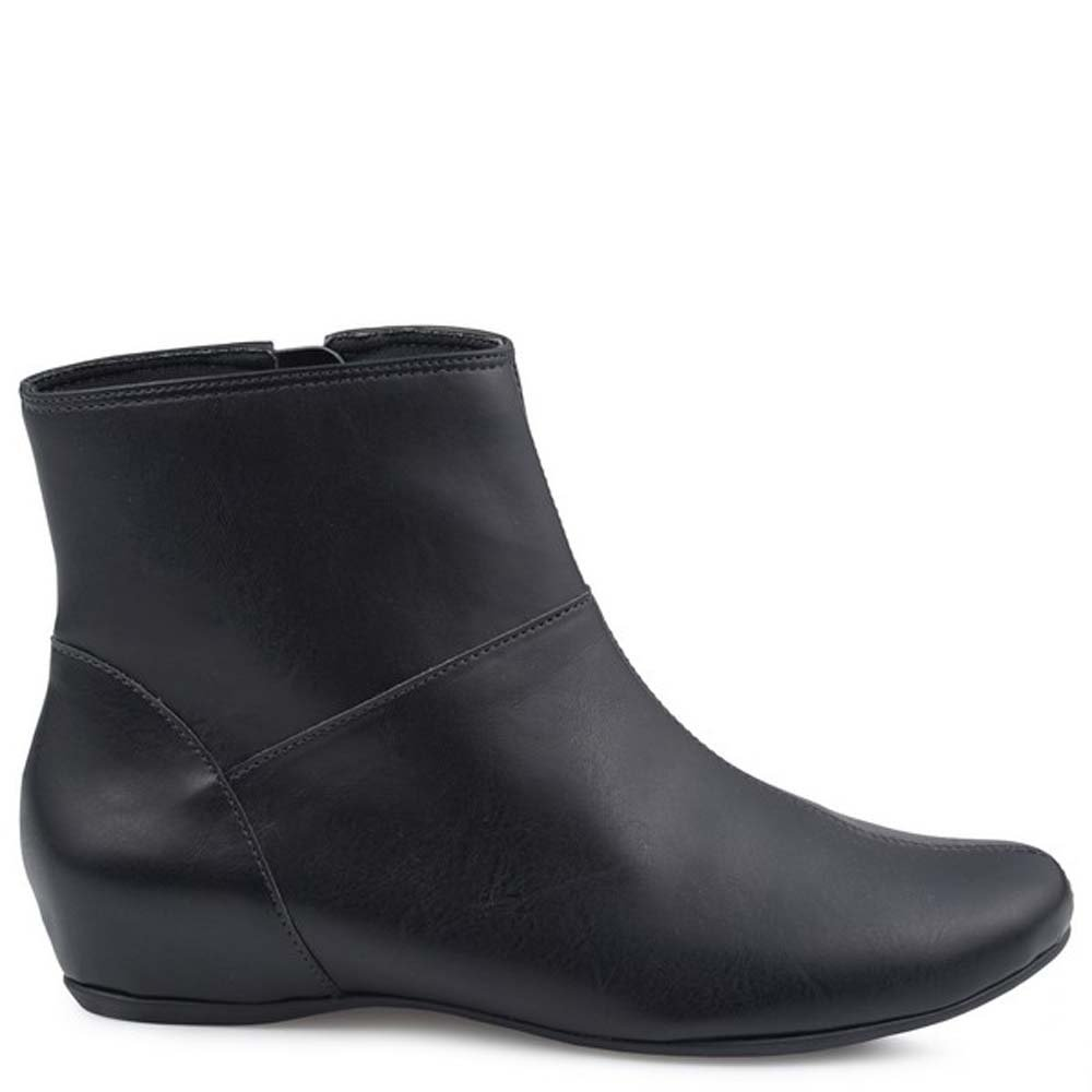 Preto Bota feminina Flat Bota clean Mr Surprise Cat Mr 8gdq80