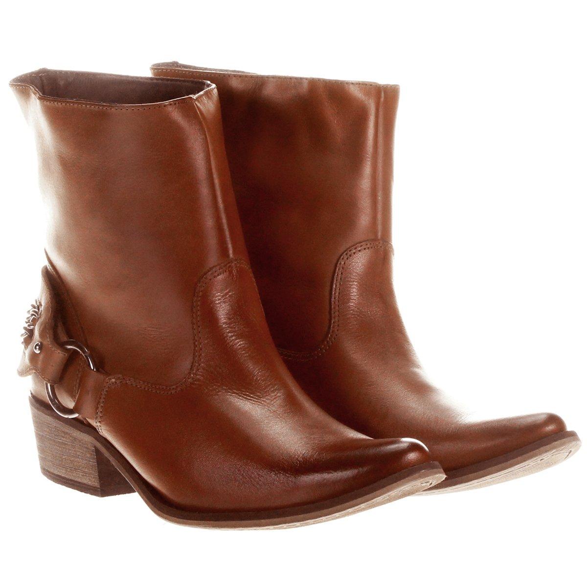 74f5530dae Bota My Shoes Correntes Cano Curto .