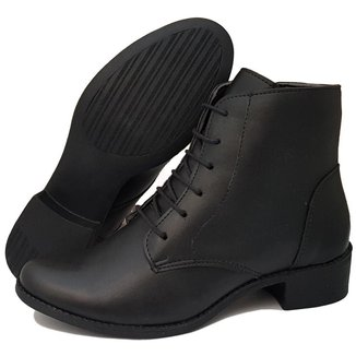 Bota Navit Shoes Lara Zíper Tratorada Feminina