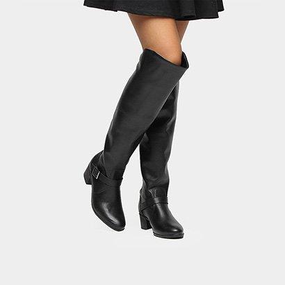 30c24dd1a Bota Over The Knee Bottero Fivela Feminina - Compre Agora