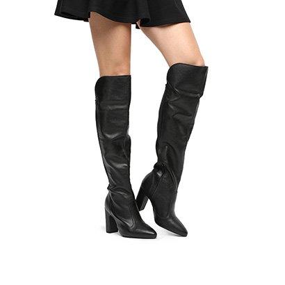 Bota Over The Knee Vizzano Bico Fino Feminina