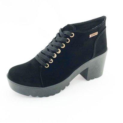 Bota Quality Shoes Camurça Feminina