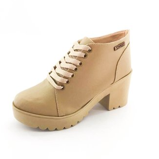Bota Quality Shoes Tratorada Feminina