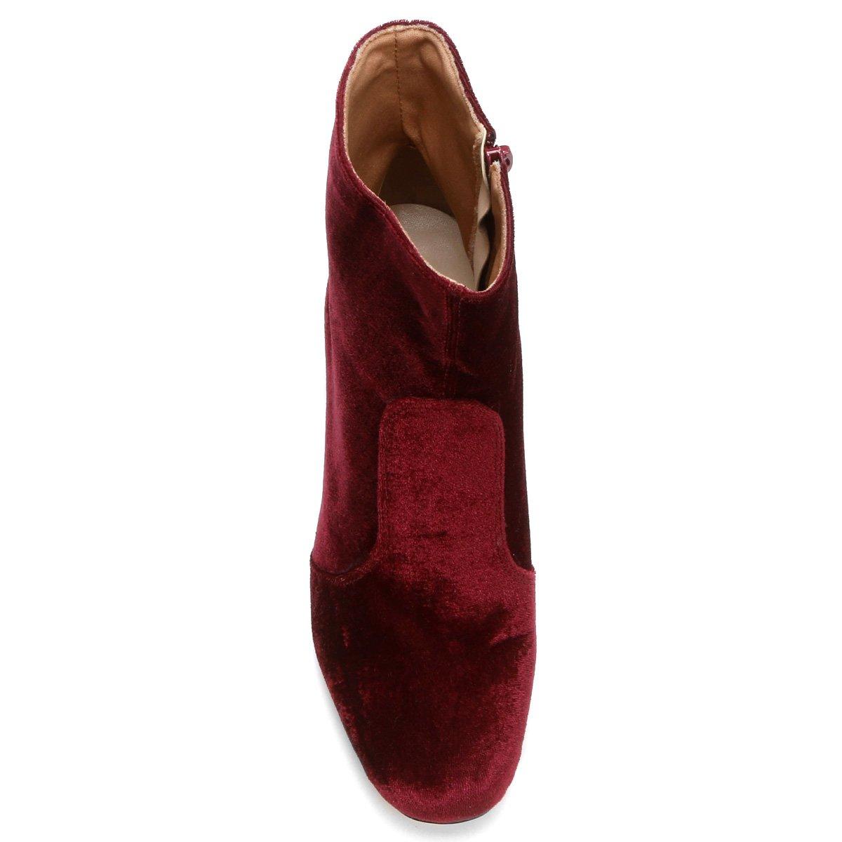 Shoestock Cano Vinho Bota Bota Cano Curto Shoestock Vinho Curto Bota vqYwWCS