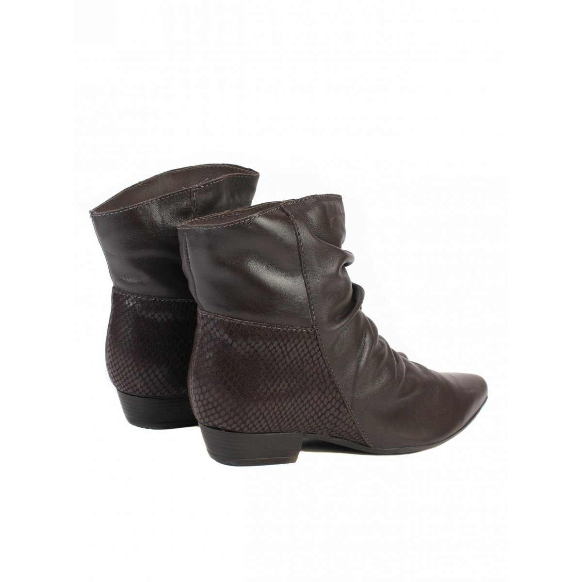 Boots Toscana Bota Bota Bottero Marrom Slouch Slouch wSzx8PBxq