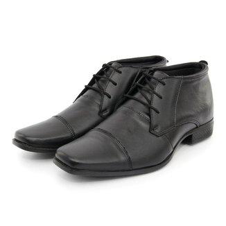 Bota Social Masculino Sport Fino Casual Em Couro BR2 Footwear
