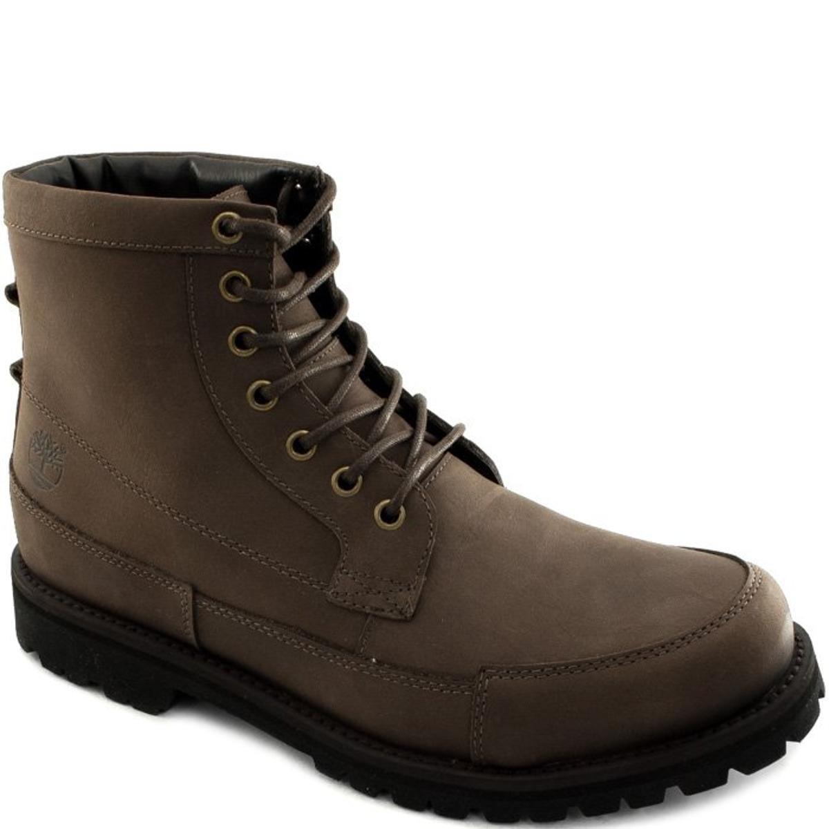 Bota Timberland Original Leather High Masculino - Marrom - Compre Agora  0133b9c51b4