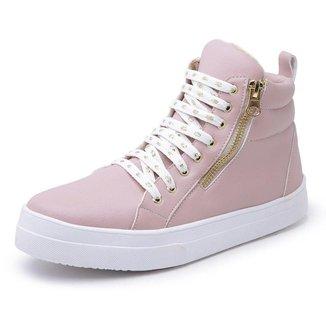 Bota Top Franca Shoes Cano Médio Feminina