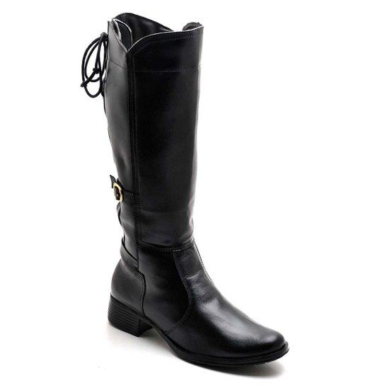 Bota Top Franca Shoes Casual - Preto