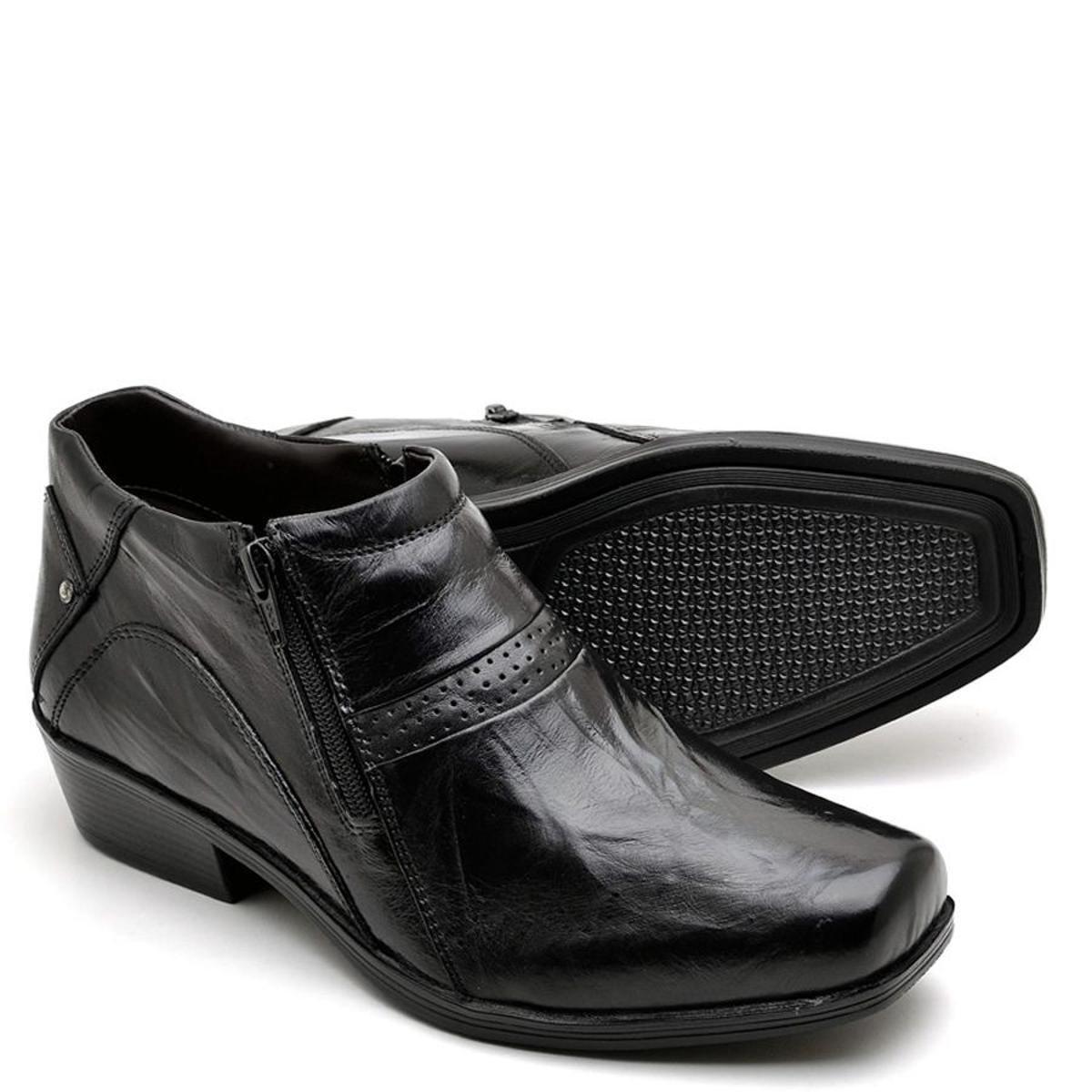 3b57cf36c5fc0 Bota Top Franca Shoes Country Masculino - Preto - Compre Agora