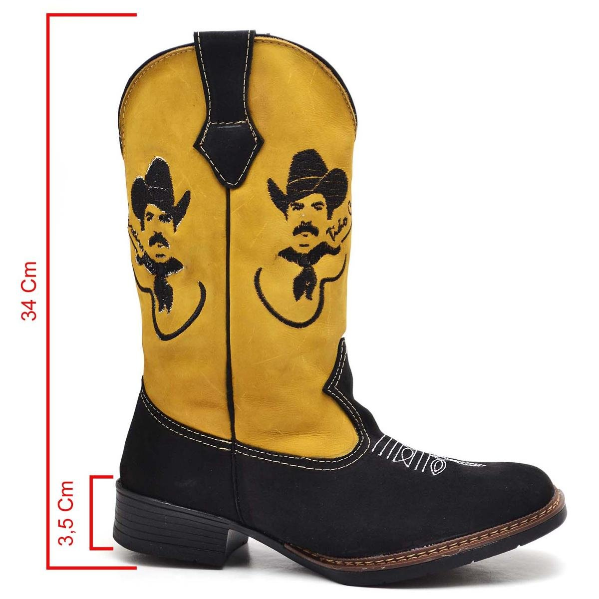 Country Bota Shoes Top Franca Masculino Franca Amarelo Shoes Bota Top 0rgwOq0