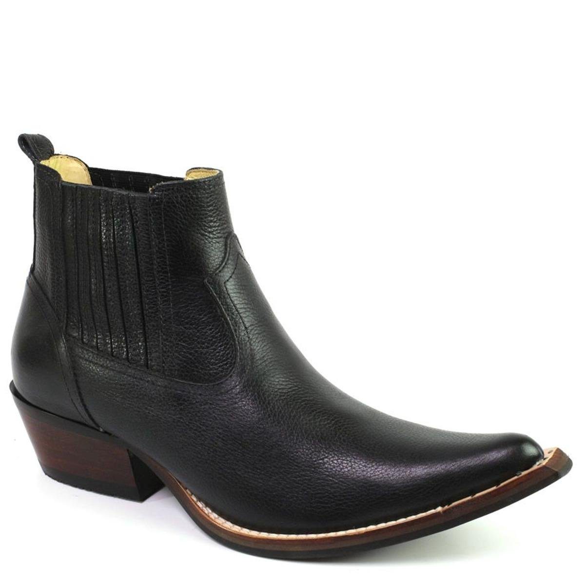 Preto Shoes Bota Franca Top Top Bota Country wYZxW6