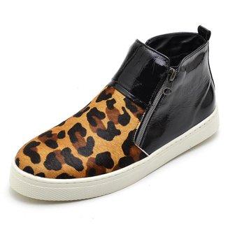 Bota Top Franca Shoes Hiate Word Feminina