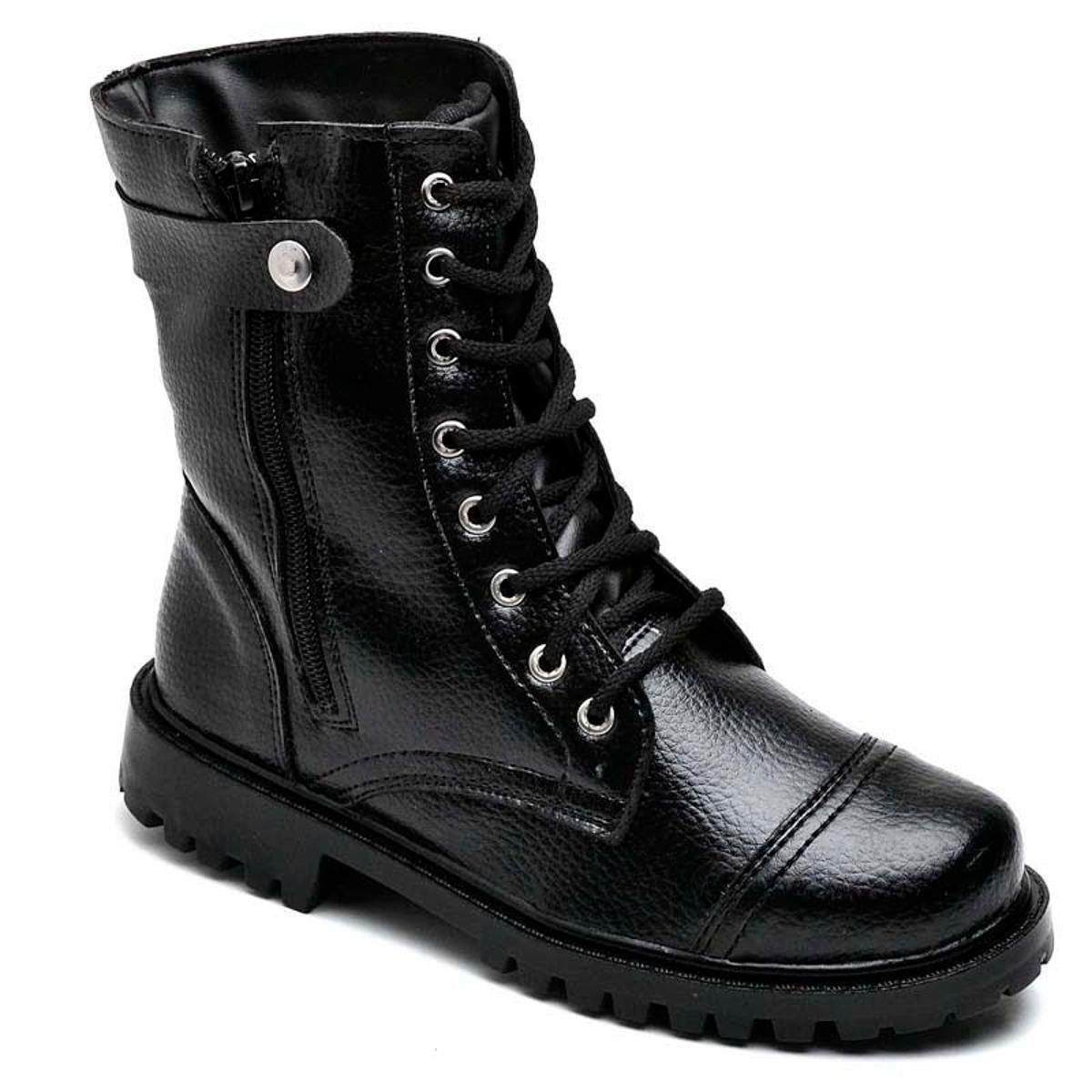 707ae4afcad Bota Top Franca Shoes Segurança Masculino - Preto - Compre Agora ...
