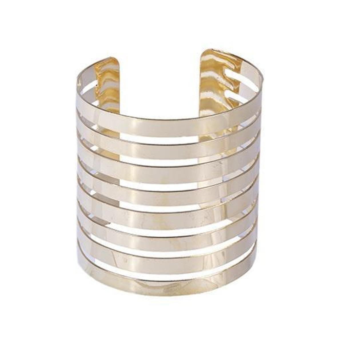 Bracelete dourado lyon - Dourado