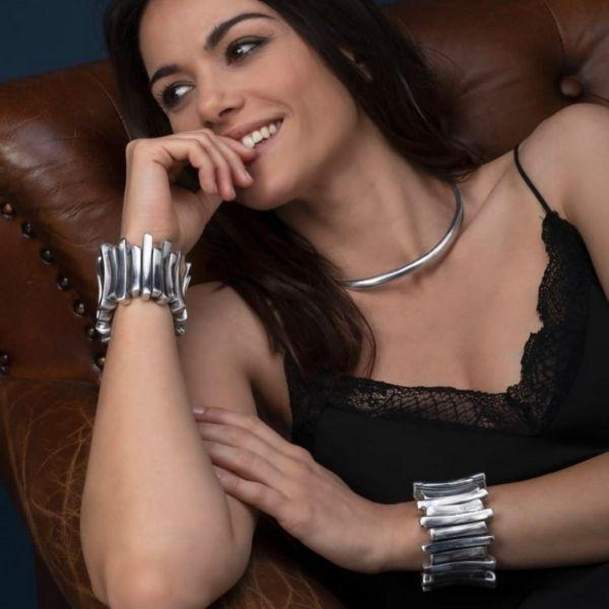 Bracelete Vestopazzo Coroa Pequena Feminino - Prata