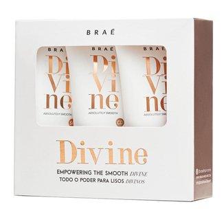 Braé Divine Travel Size Kit – Shampoo + Condicionador + Máscara Kit