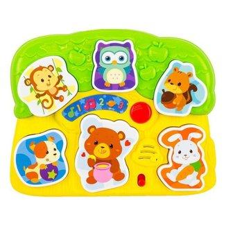 Brinquedo de Encaixar Animais 0771 Winfun - 6 Peças