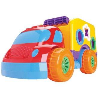 Brinquedo de Encaixar Robustus Baby Divertoys - 8 Peças