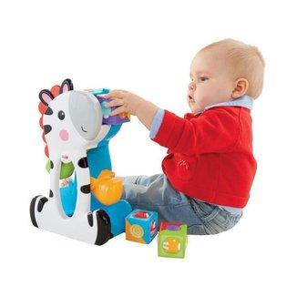 Brinquedo de Encaixar Zebra Blocos Surpresa