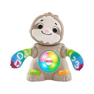 Brinquedo para Bebê Bicho Preguiça Movimentos Divertidos Fisher-Price