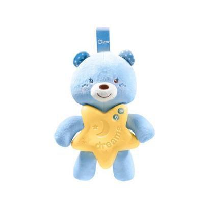 Brinquedo para Bebê Ursinho Bons Sonhos Azul
