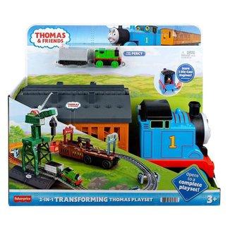 Brinquedo Playset 2 Em 1 Thomas E Amigos Fisher Price Gxh08