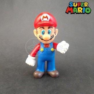 Brinquedos Bonecos Colecionáveis Action Figure Universo Mario + Caneca Personalizada 350ml