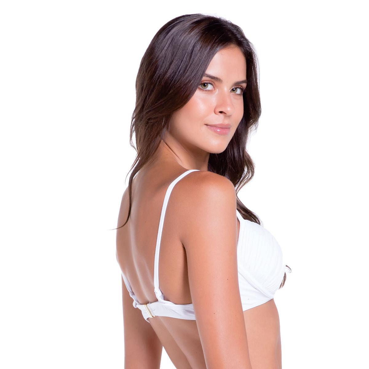 Bustie Sol & Energia Meia Taça - Branco