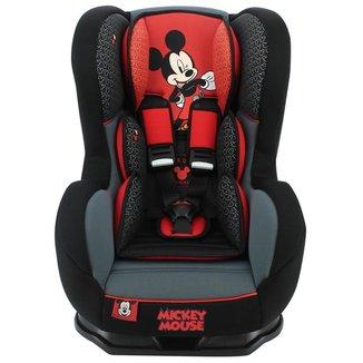 Cadeira Para Auto Disney Cosmo Mickey Mouse Classique 0 Até 25 Kg Preta e Vermelha