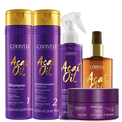 Cadiveu Açaí Oil Kit Natural Home Care Completo-Feminino