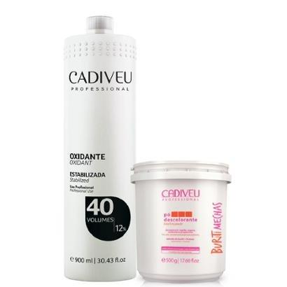 Cadiveu Buriti Mechas Pó Descolorante + Oxidante 40 Volumes