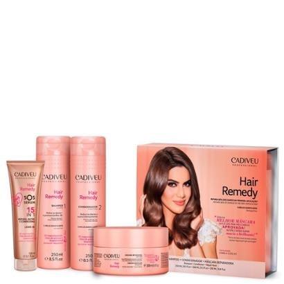 Cadiveu Hair Remedy Kit Home Care E  Sos Sérum 15 Em 1-Feminino