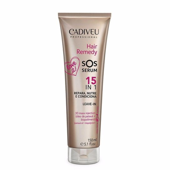 Cadiveu Professional Hair Remedy SOS Serum 150ml - Incolor