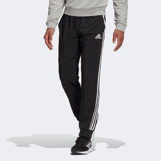 Calça Adidas 3 Listras Barra Masculina