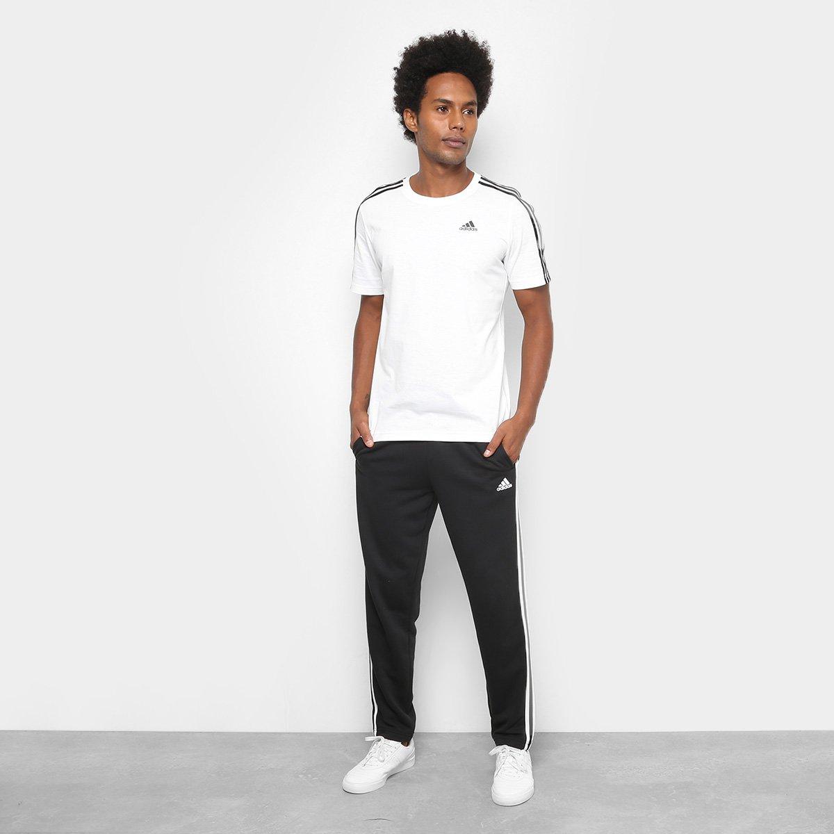 5841d76686e Calça Adidas Ess 3S Coft Masculina - Compre Agora