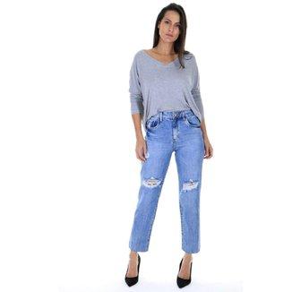 Calça AHA mom jeans Feminina